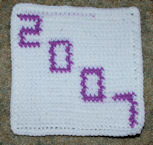 Row Count 2007 Afghan Square Free Crochet Pattern