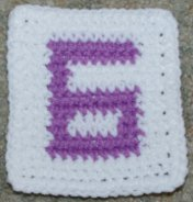 Row Count 6 Coaster Free Crochet Pattern