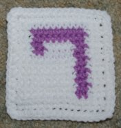Row Count 7 Coaster Crochet Pattern