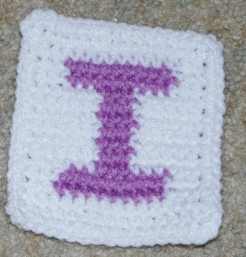 Row Count I Coaster Crochet Pattern
