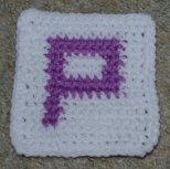 Row Count P Coaster Crochet Pattern