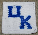 Row Count UK Afghan Square Crochet Pattern
