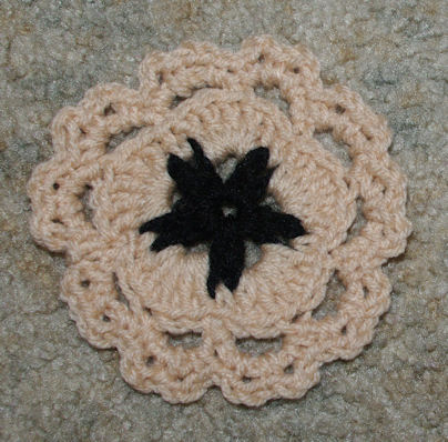 Sand Dollar Coaster Free Crochet Pattern