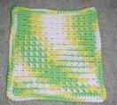 Sasha's Dishcloth Crochet Pattern