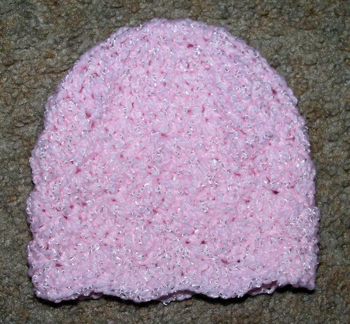 Crochet Hat Pattern Shell Stitch : Shell Stitch Baby Hat Crochet Pattern - Free Crochet ...