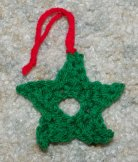 Simple Star Ornament Crochet Pattern