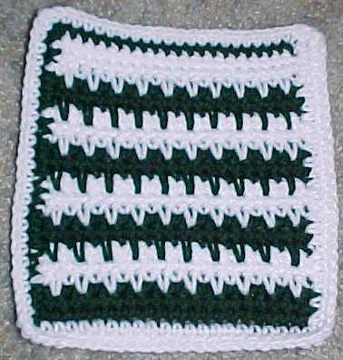 Spike Stitch Afghan Square Crochet Pattern Free Crochet Pattern