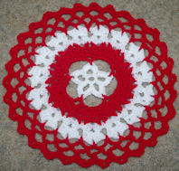 Star Centered Christmas Doily Crochet Pattern  - Free Crochet Pattern Courtesy of Crochet N More