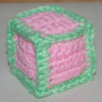 Free Easy Crochet Patterns For Baby Toys : Stuffed Toy Block Crochet Pattern