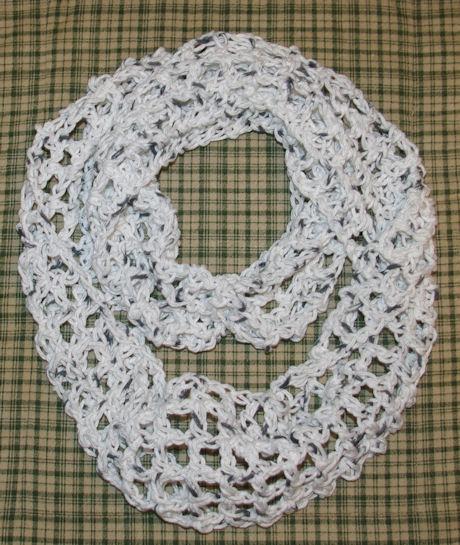 Summer Infinity Scarf Crochet Pattern Free Crochet Pattern