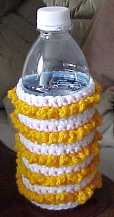 Summer Water Bottle Cozy Crochet Pattern