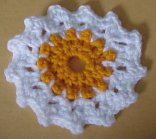 Sunshine Coaster Crochet Pattern