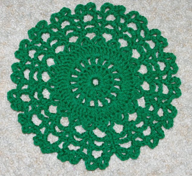 Ten Inch Doily Crochet Pattern - Free Crochet Pattern Courtesy of ...