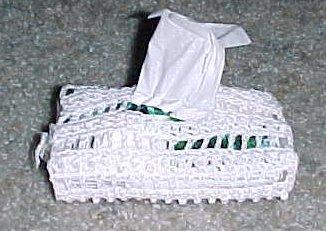 Pocket Tissue Holder Crochet Pattern - Arrow's Flight