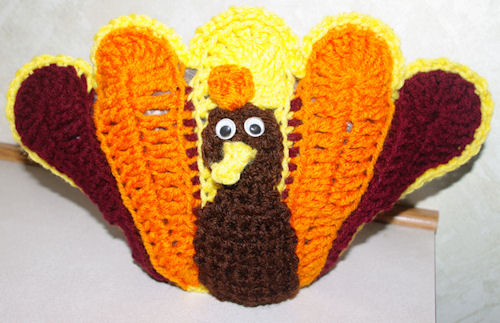 Turkey Table Topper Free Crochet Pattern