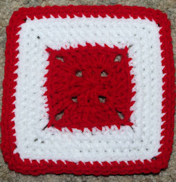 Valentine Afghan Square Free Crochet Pattern Courtesy of Crochet N More