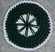 For the Love of Crochet Along: FOR SALE: Wagon Wheel Afghan