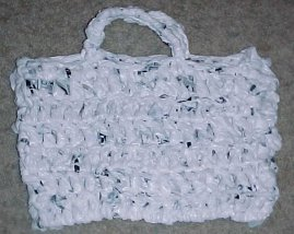 Yarn Tote Recycled Crochet Pattern